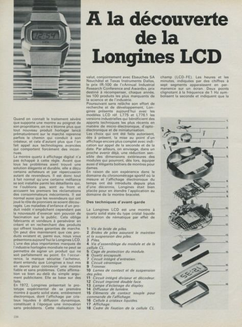 Longines Watch Company Switzerland Vintage 1975 Swiss Ad Suisse Advert Horology Multi-Page