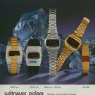 Wittnauer Watch Company Switzerland Vintage 1975 Swiss Ad Advert Suisse Horology