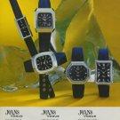 Camy Watch Company Geneva Switzerland Vintage 1975 Swiss Ad Suisse Advert