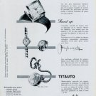1959 Solvil & Titus Watch Company Geneva Switzerland Vintage 1959 Swiss Ad Suisse Advert