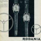 1963 Rodania Watch Company Rodania World Star Advert Vintage 1963 Swiss Ad SuisseAdvert