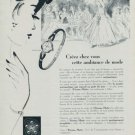 Eterna Watch Company Eterna Matic Vintage 1955 Swiss Ad Suisse Advert Horlogerie