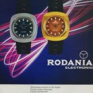 1971 Rodania Watch Company Grenchen Switzerland Vintage 1971 Swiss Ad Suisse Advert