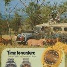 Nivada Watch Company Switzerland Vintage 1975 Swiss Ad Suisse Advert Horlogerie Horology