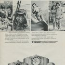 1975 Tissot Watch Company Switzerland Tissot Seastar Advert Vintage 1975 Swiss Ad Suisse Advert