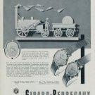 1955 Girard-Perregaux Watch Company Switzerland Vintage 1955 Swiss Ad Suisse Advert Horlogerie