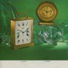 1975 Swiza Clock Company Switzerland Louis Schwab Vintage 1975 Swiss Ad Suisse Advert Horlogerie
