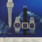 Ebel Watch Company Switzerland Vintage 1975 Swiss Ad Suisse Advert Horology
