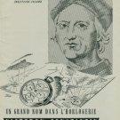 1944 Vacheron & Constantin Watch Company Switzerland Vintage 1944 Swiss Ad Suisse Advert