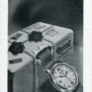 1946 Ogival Watch Company Switzerland Vintage 1946 Swiss Ad Suisse Advert Horlogerie
