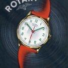 1944 Rotary Watch Company La Chaux-de-Fonds Switzerland Vintage 1944 Swiss Ad Suisse Advert