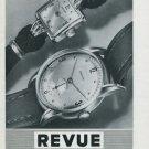 1946 Revue Watch Company Thommen S.A. Switzerland Vintage 1946 Swiss Ad Suisse Advert