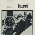 1968 Precimax Watch Company Neuchatel Geneva Switzerland Vintage 1968 Swiss Ad Suisse Advert