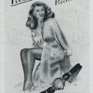 1946 Prexa Watch Company Le Locle Switzerland Vintage 1946 Swiss Ad Suisse Advert Horology