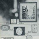 1967 Derby Clock Company Switzerland Derby Vox 1967 Swiss Ad Suisse Advert Horlogerie