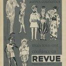 1957 Revue Watch Company Waldenburg Switzerland Vintage 1957 Swiss Ad Suisse Advert