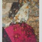 Manolo Valdes Retrato de Guiliano de Medici Art Ad Advertisement