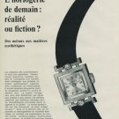 1968 Benrus Watch Company La Chaux-de-Fonds Switzerland Vintage 1968 Swiss Ad Suisse Advert