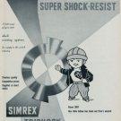 1960 Monorex Super Shock Resist Erismann Schinz Vintage 1960 Swiss Ad Suisse Advert Horology