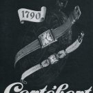 Cortebert Watch Company Vintage 1946 Swiss Ad Switzerland Suisse Advert Horlogerie