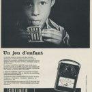 Greiner Electronic Company Electr-o-meter 1968 Swiss Ad Suisse Advert Horlogerie