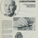 Arthur Imhof Clock Company 50 Year Anniversary Vintage 1974 Swiss Magazine Article