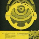 1958 Girocap Porte Echappement Company Vintage 1958 Swiss Ad Suisse Advert Horology