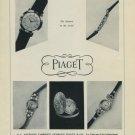 1956 Piaget Watch Company La Cote-Aux-Fees Switzerland Vintage 1956 Swiss Ad Suisse Advert