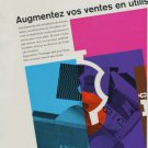 1956 Incabloc Le Porte-Echappement Universel Vintage 1956 Swiss Ad Suisse Advert