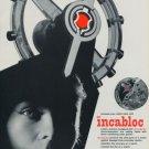 1956 Incabloc Universal Escapement Company 1956 Swiss Ad Suisse Advert Switzerland Horology