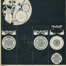 1962 Girocap Le Porte-Echappement Universel 1962 Swiss Ad Suisse Advert Horlogerie Horology