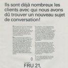 1971 Fru 21 Portescap Company Reno SA Vintage 1971 Swiss Ad Suisse Advert Horology Horlogerie