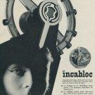 1955 Incabloc Le Porte Echappement Universel SA Vintage 1955 Swiss Ad Suisse Advert Horology