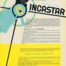 1949 Incastar Universal Escapement Company Vintage 1949 Swiss Ad Suisse Advert Horology Horlogerie