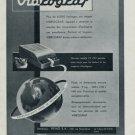 Vibrograf 1955 Suisse Advert Le Porte-Echappement Universel SA Vintage Swiss Ad Switzerland