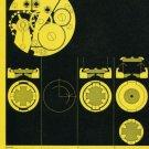 1959 Girocap Le Porte-Echappement Universel SA 1959 Swiss Ad Suisse Advert Horlogerie Horology