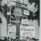 1947 Pierce Watch Company Bienne Switzerland Vintage 1947 Swiss Ad Suisse Advert