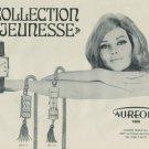 Aureole Watch Company Vintage 1967 Swiss Ad Suisse Advert Horology Horlogerie