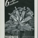 1947 Tornos S.A. Moutier Switzerland Vintage 1947 Swiss Ad Suisse Advert Horology Horlogerie