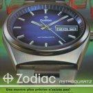 1973 Zodiac Watch Company Zodiac Astroquartz Advert 1973 Swiss Ad Suisse Advert Switzerland