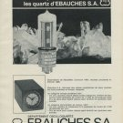 Ebauches SA Switzerland Vintage 1965 Swiss Ad Suisse Advert Horlogerie Horology