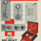 Bijoux Murat Jewelry Company Paris France Vintage 1965 Swiss Ad Suisse Advert