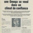 1965 Omega Watch Company Switzerland Vintage 1965 Swiss Ad Suisse Advert Horlogerie Horology