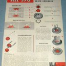 1951 KIF 370 Watch Part Company Parechoc Le Sentier Switzerland 1951 Swiss Ad Suisse Advert
