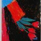 Georg Baselitz Tulpen Tulips Art Ad