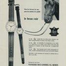 1956 Lacar Lavable Company Vintage 1956 Swiss Ad Suisse Advert Horlogerie  Max Gimmel S.A.