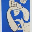 Hans Hofmann White in Blue Art Ad