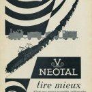 1956 Vimetal Company Geneva Switzerland Neotal 1956 Swiss Ad Suisse Advert Horology Horlogerie