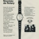 1968 Rotary Watch Company Switzerland Vintage 1968 Swiss Ad Suisse Advert Horology