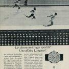 Longines Watch Company Switzerland Vintage 1967 Swiss Ad Suisse Advert Horology